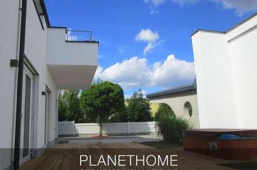 Erdgeschoß-Wohnung mit Terrasse und Whirl-Pool