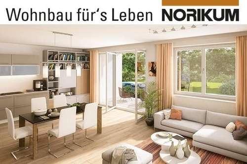 Schwanenstadt, Wohnpark Schwanbach - attraktive 3-Raum-Gartenwohnung mit schönem Garten - Wg. A2