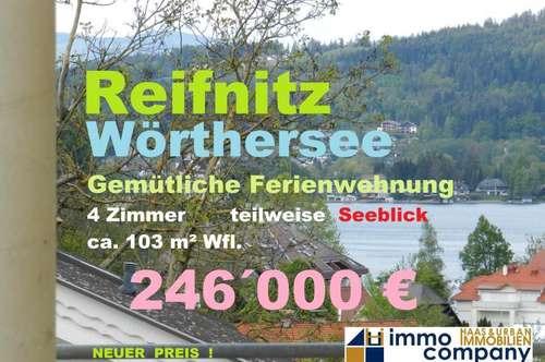 Komfortable, möblierte 4-Zimmerwohnung am Wörthersee - 103m² Wfl.