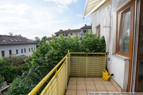 Sonnige 3-Zimmer-Wohnung Salzburg-Süd