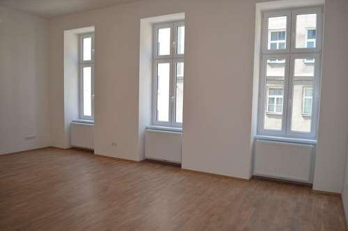 ERSTBEZUG! REMBRANDTSTRASSE! Donaukanal-Nähe, 130 m2 Altbau, 3 Zimmer, 3er-WG-geeignet, Wohnküche, 2 Bäder, Parketten, Ruhelage;