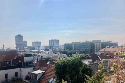 EIGENHEIM -EXZELLENTE Dachgeschoß-Wohnung mit traumhafte Terrassen & sensationellen Wienweitblickin Bestlage - 1030 WIEN - Nähe URANIA!!!
