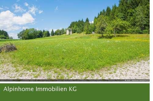 Sonniges Grundstück mit herrlichem Ausblick in St. Georgen in Kärnten