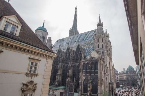 WIEN - 1. BEZIRK: Rarität am Stephansplatz - First Class Domizil zum Wohnen als auch zum Arbeiten!