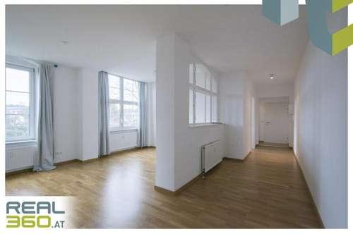 Sonnige, zentral gelegene 2-Zimmer Wohnung mit separater Küche und großem Wohnbereich!