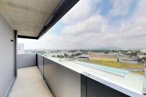 1210 Wien: Moderne Mietwohnung die keine Wünsche offen lässt CITYGATE-27 m² Balkon