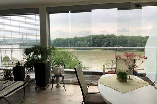 Mauthausen: Traumhafte 78 m² Terrassenwohnung mit Blick über die Donau