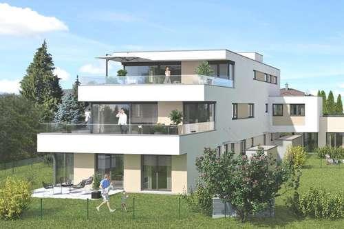 Premium-Penthouse mit Panoramaterrasse in Parsch! - In Kürze Baubeginn!