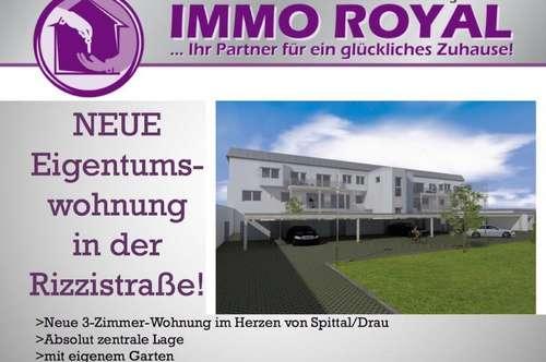 V E R K A U F T ! Neue Gartenwohnung im Zentrum von Spittal/Drau! TOP 2