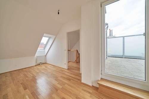 Maisonette mit 3 Zimmern und Terrasse - Ruhelage, Erstbezug, Fernblick | Virtuelle 360-Grad-Besichtigung