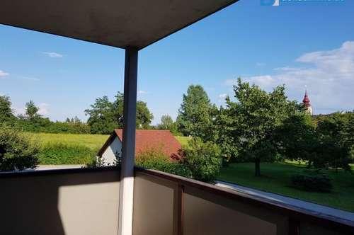 Großzügige 2-Zimmer Wohnung mit Balkon, idyllisch gelegen nahe Fürstenfeld und nur 35 min nach Graz!