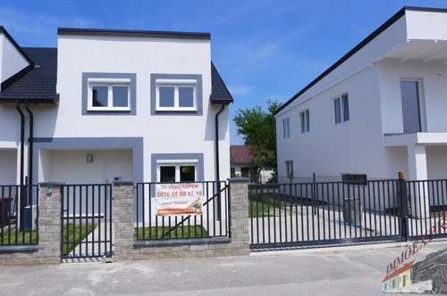 Doppelhaushälfte 162 m² Ziegelmassiv Schlüsselfertig PLUS Aussenanlagen fertig