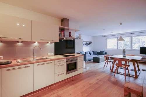 Perfekt geschnittene Wohnung mit Blick auf den Gaisberg