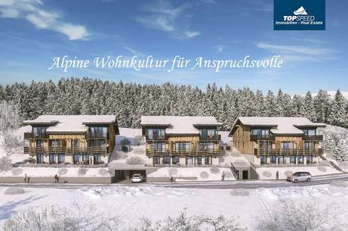 Alpine Wohnkultur für Anspruchsvolle - 54,52m² Eigentumswohnung