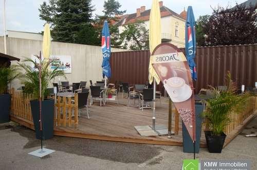 Gastrolokal mit Gastgarten Nähe Altstadt