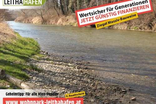 Haus 21! Doppelhaushälfte im Wohnpark Leithahafen! -wpls