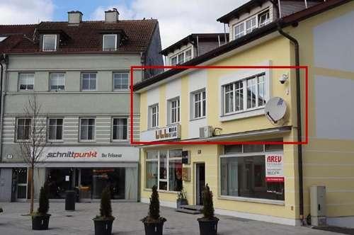 Bürofläche gegenüber Einkaufzentrum Weberzeile in Ried/I. im 1. Obergeschoß