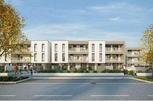 Provisionsfreier Neubau Erstbezug nähe Wien! Balkone, Gärten, Loggien und Terrassen!