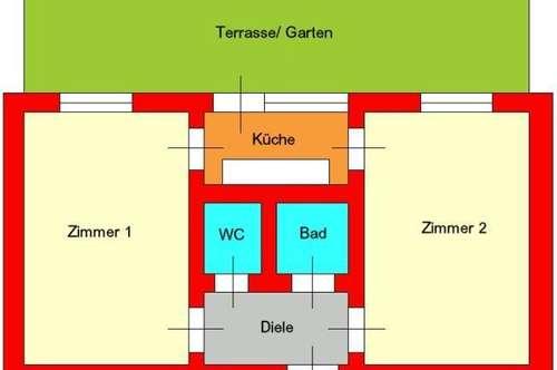 Neubauwohnung - mit Terrasse und Garten nähe LKH ab 01.09.2018