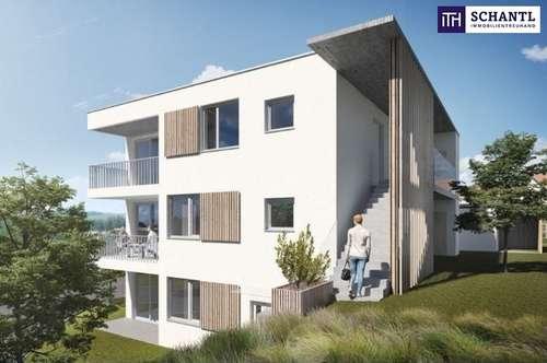 ANLEGER AUFGEPASST: Liebevolle Kleinwohnung, ideal aufgeteilt mit 2 Zimmer + Terrasse + Grandiosen Ausblick + Photovoltaik inkl. in 8075 Hart bei Graz! TOP Vermietbarkeit garantiert!