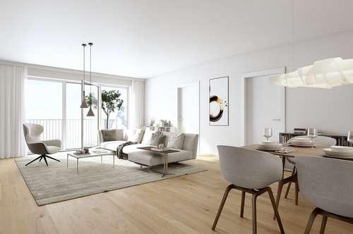 2-Zimmer-DG-Wohnung mit Terrasse / Erstbezug