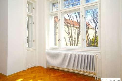 Repräsentative 5-Zimmer-Beletage mit Wintergarten und Grünblick - Bestlage im Pratercottage