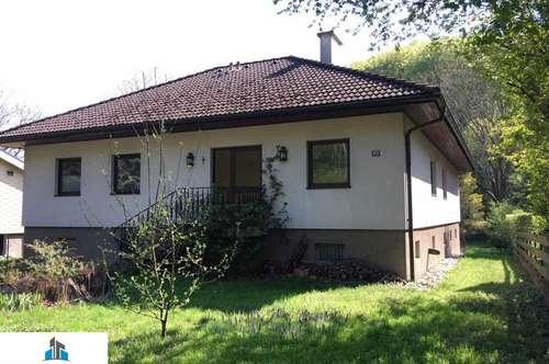 Einfamilienhaus - wohnen im Grünen - mitten in Maria Gugging - sofort beziehbar