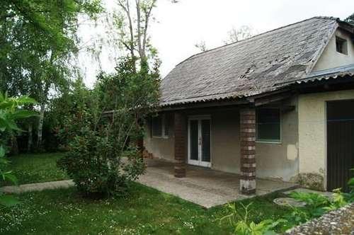 Abbruchhaus in Seenähe