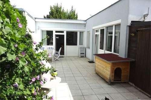 Ruhiges, sonniges Haus mit hübschem Garten (Reihenhaus), 3 Zimmer + Küche, Topzustand, Nähe Liesingbach, U1-Neulaa, Bus 67A, barierrefrei!