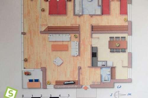 Schwaz - Sonnendurchflutete 3-Zimmerwohnung in Ruhelage