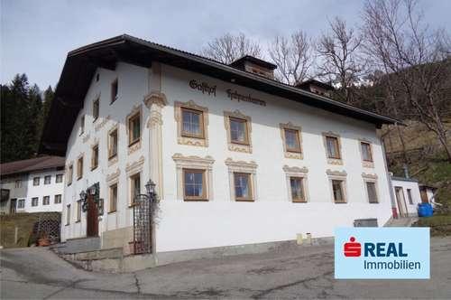 Uriger Tiroler Gasthof in ruhiger Lage von Wängle!