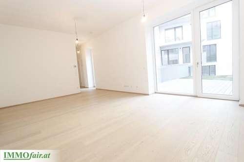 TERRASSENWOHNUNG in Hofruhelage - (1. OG Top 3 - 3 Zimmer ca. 65 m² + 28 m² Terrasse € 399.000,-)