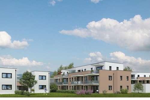 **RESERVIERT** 56m² Neubau-Eigentumswohnung mit Eigengarten in Hartkirchen/Karling -PROJEKT WOHNTRAUM 2018