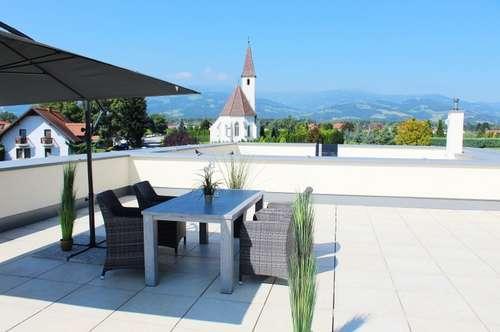 Platz für Ihren eigenen Pool am Dach bietet diese exklusive Neubauwohnung in Wolfsberg - St. Thomas.