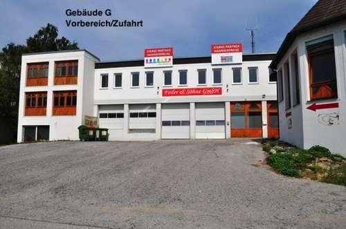 Industriegelände Donnerskirchen! Lager, Werkstatt, Büro, Geschäft! Ab 25€ Netto/Monat! 10m² - 1500m²! 10 min nach Eisenstadt!