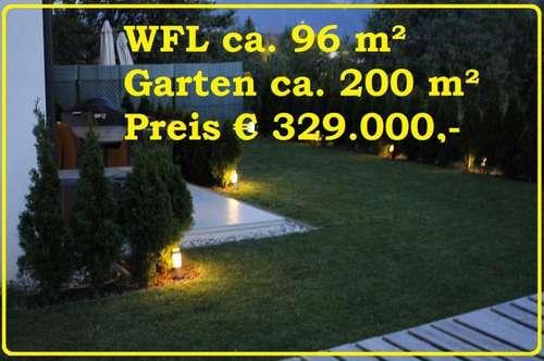 Neuwertige 4-Zimmer Gartenwohnung in Villach-Völkendorf !!!