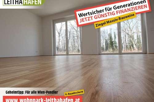 Haus 24! Doppelhaushälfte im Wohnpark Leithahafen! -wpls