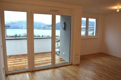 3 Zi. Erstbezugswohnung in Steinbach/Attersee - mit Seeblick, Balkon, Lift, Tiefgarage