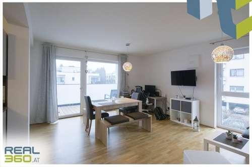 Helle 2-Zimmer Neubauwohnung mit perfektem Grundriss und großem Balkon zu vermieten!