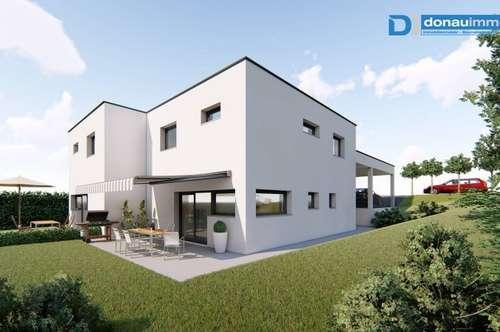Moderne Doppelhaushälfte in traumhafter Aussichtslage (Provisionsfrei!)