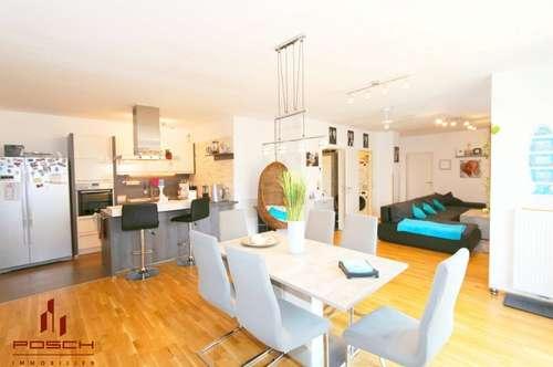 Gartenwohnung 100 m² , 4 Zimmer, ruhig und schön, 2 Autoabstellplätze