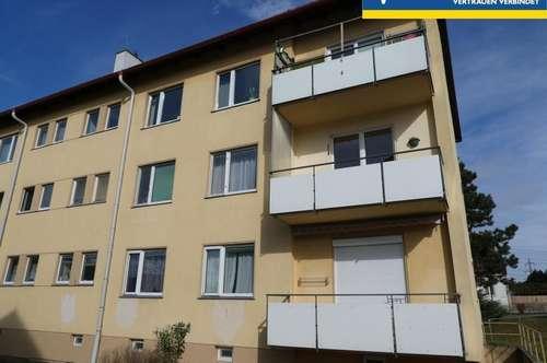 3 Zimmer in Ruhelage mit Balkon