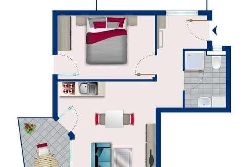 Moderne 2-Zimmer-Wohnung in Kematen