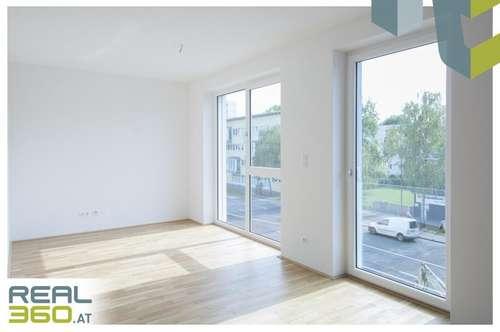 Zentrale 2- Zimmerwohnung mit Küche und Balkon! ERSTBEZUG!
