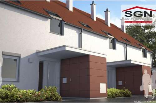 Erstbezug:Frei finanziertes top modernes 4- Zimmer Reihenhaus Top 8 (Seenähe) in Neufeld/Leitha zu mieten!