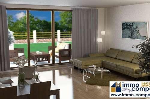 PROVISIONSFREI!!!!! - ERSTBEZUG – Sonniges Doppelhaus mit 112m², 4 Zimmer und Garten, zwei Parkplätze im Carport