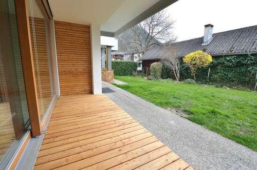 Barrierefreies Wohnerlebnis mit charmantem Garten