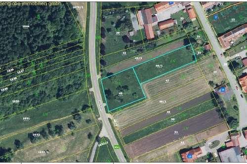 Sonniges Grundstück (ca. 2790 m²) im Südburgenland