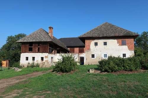 Landwirtschaftliches Anwesen in ALLEINLAGE