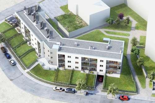 Moderne Drei-Zimmer-Wohnung mit Garten und Terrasse in Eisenstadt